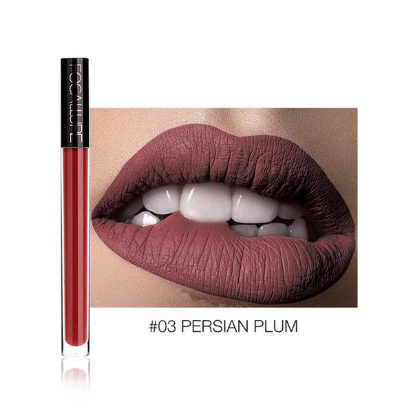 Ruj Lichid Waterproof Persian Plum FOCALLURE 03