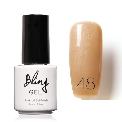 Oja Semipermanenta Bling By FOCALLURE - 6ml - Beige - 48