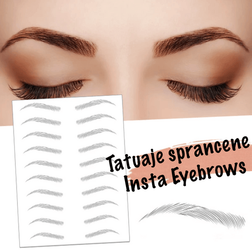 Set 10 Tatuaje Sprancene InstaEyebrows ™