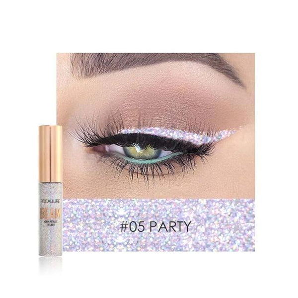 Glitter Lichid Eyeliner Party FOCALLURE 05