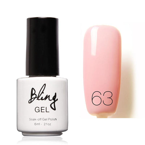 Oja Semipermanenta Bling By FOCALLURE - 6ml - Pink Lighten - 63