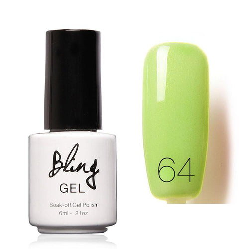 Oja Semipermanenta Bling By FOCALLURE - 6ml - Green Light - 64