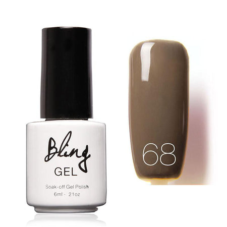 Oja Semipermanenta Bling By FOCALLURE - 6ml - Warm Beige - 77