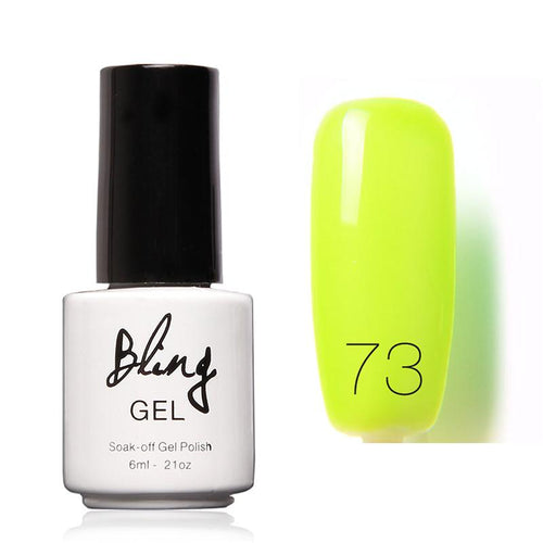Oja Semipermanenta Bling By FOCALLURE - 6ml - Green Apple - 73