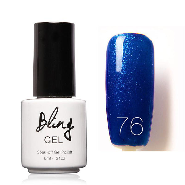 Oja Semipermanenta Bling By FOCALLURE - 6ml - Blue Trend - 76