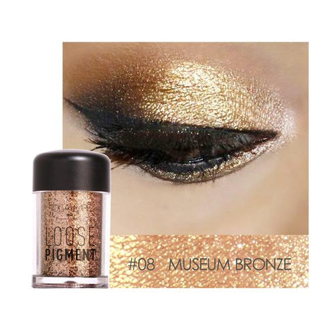 Glitter Pulbere Brown Plum FOCALLURE 04