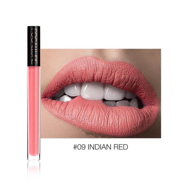 Ruj Lichid Waterproof Indian Red FOCALLURE 09