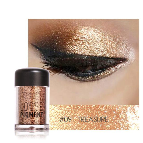 Glitter Pulbere Treasure FOCALLURE 09