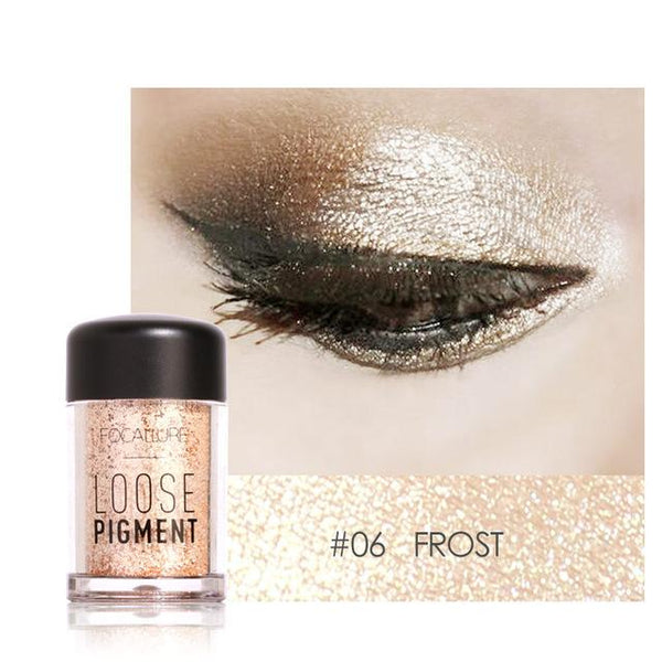 Glitter Pulbere Frost FOCALLURE 06