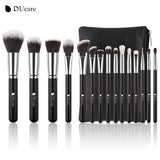 Set 15 Pensule Black Edition Ducare