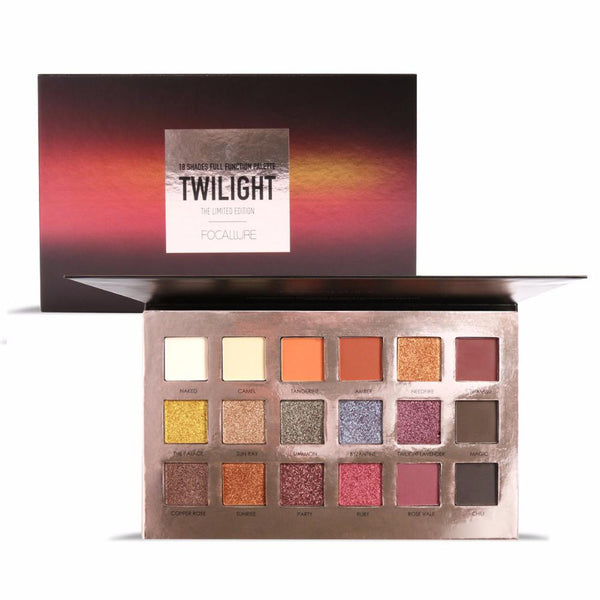 Paleta 18 Farduri Twilight FOCALLURE