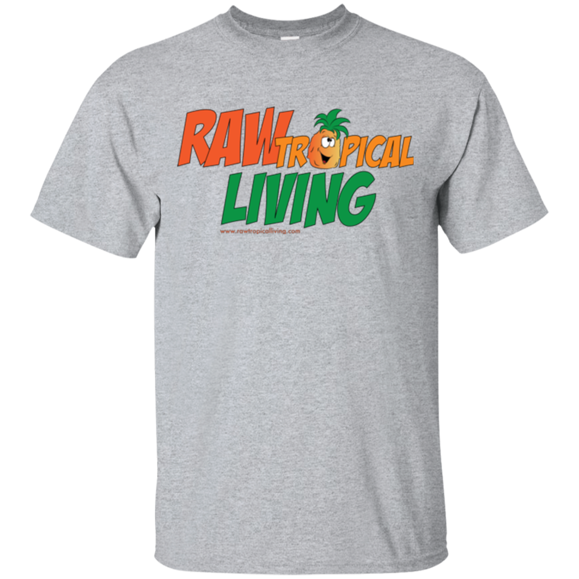 Raw Tropical Living Logo T-Shirt