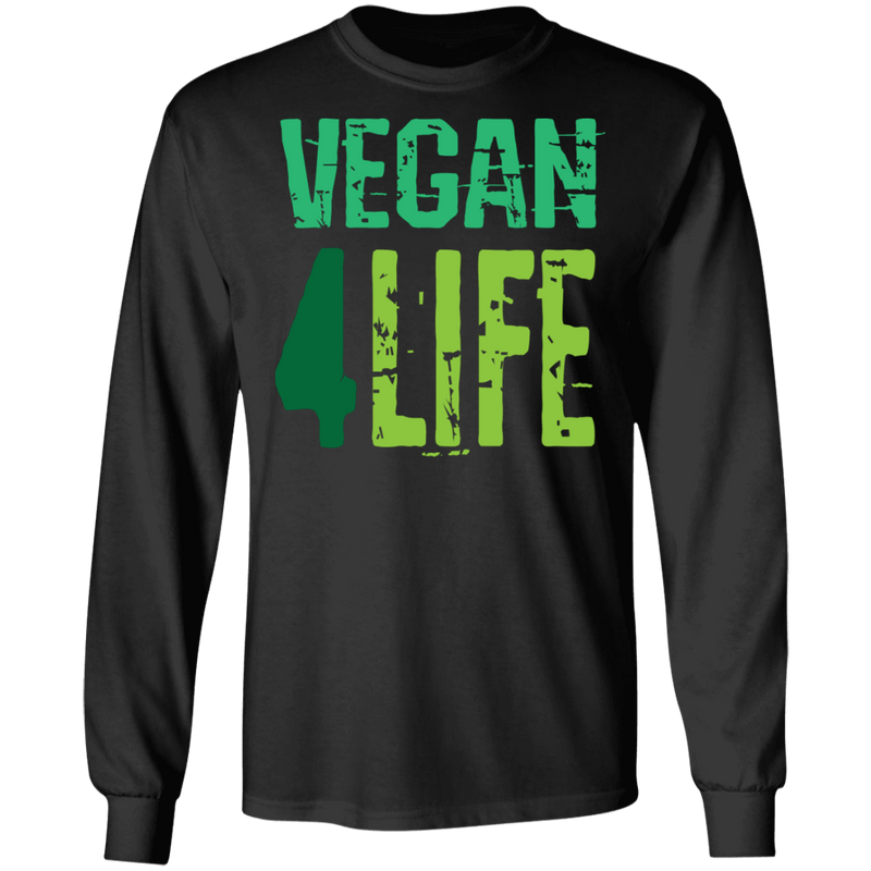 Vegan 4 Life LS Ultra Cotton T-Shirt