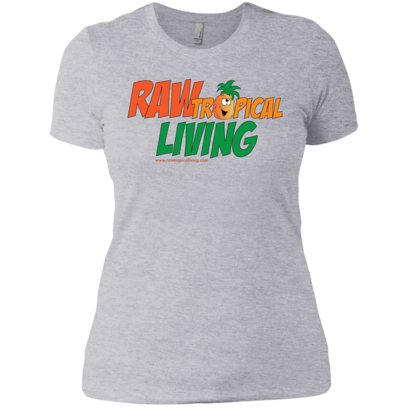 Raw Tropical Living Next Level Ladies' Boyfriend T-Shirt