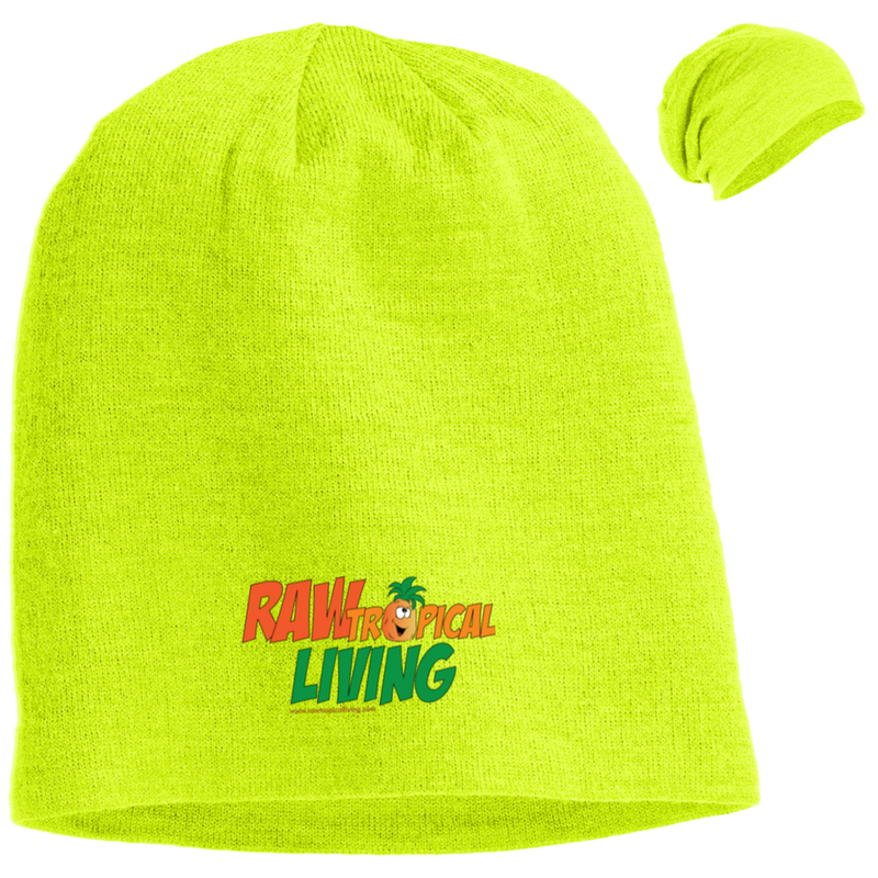 Raw Tropical Living District Slouch Beanie