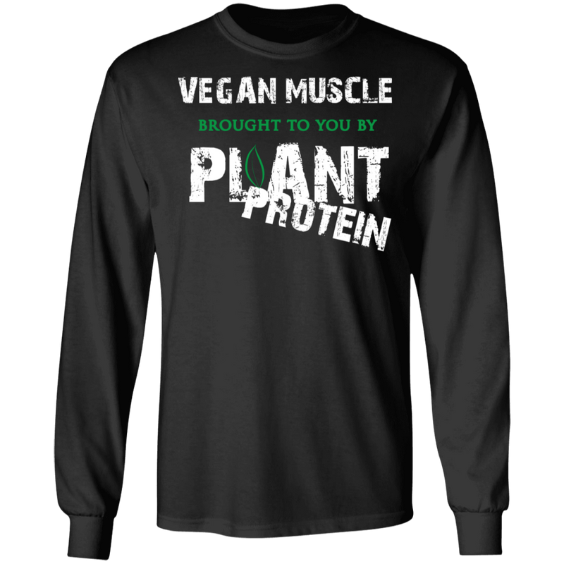 Vegan Muscle LS Ultra Cotton T-Shirt