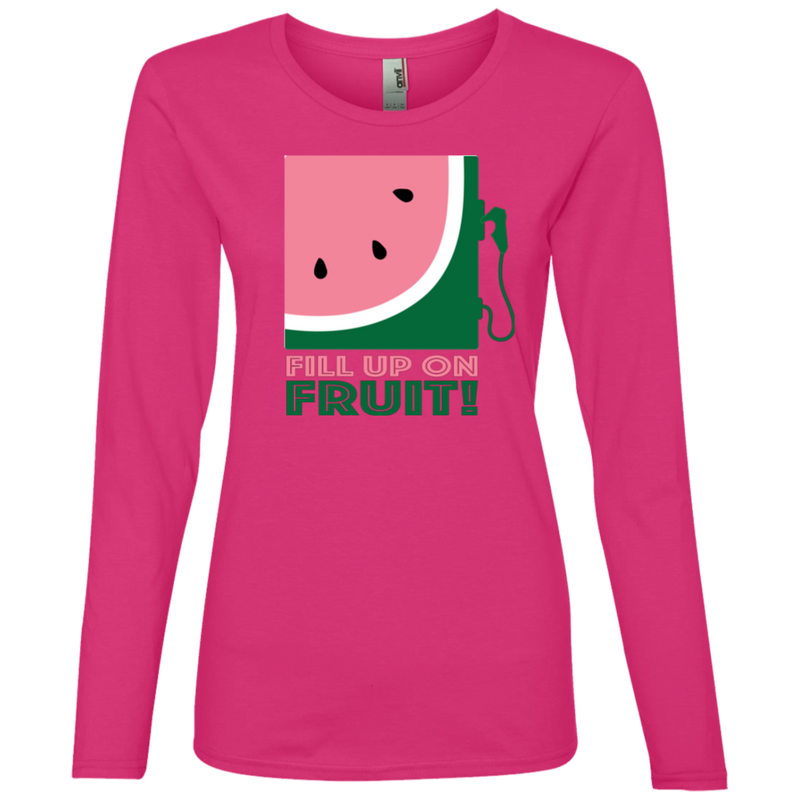 Fill up on Fruit Ladies' Lightweight LS T-Shirt