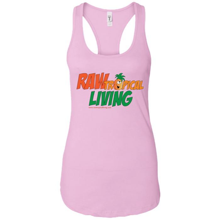 Raw Tropical Living Ladies Ideal Racerback Tank