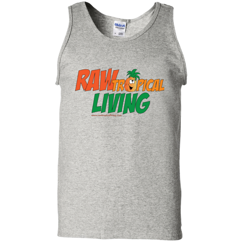 Raw Tropical Living Logo Tank Top