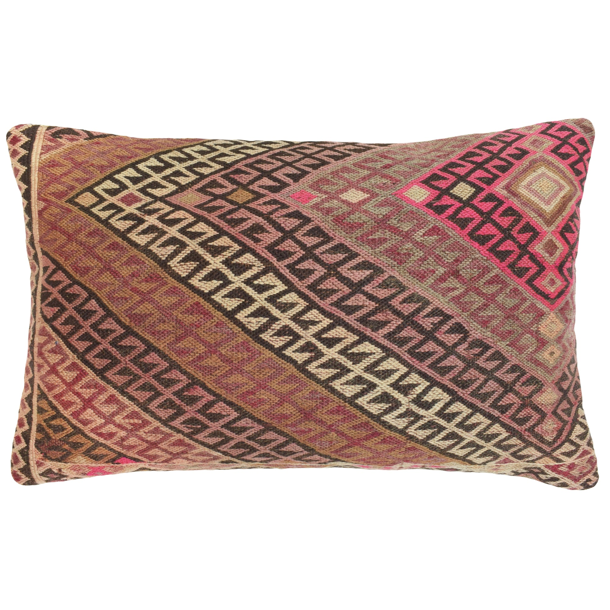 Yonder Living Vintage Kilim Cushion Red Yellow
