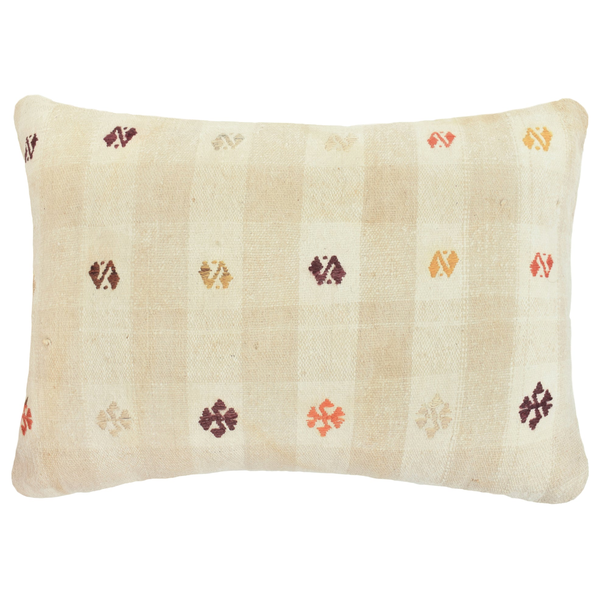 Yonder Living Vintage Kilim Cushion Lumbar Cream 1