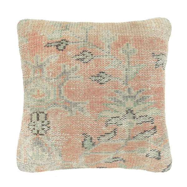 Yonder Living Vintage Kilim Cushion Square Peach
