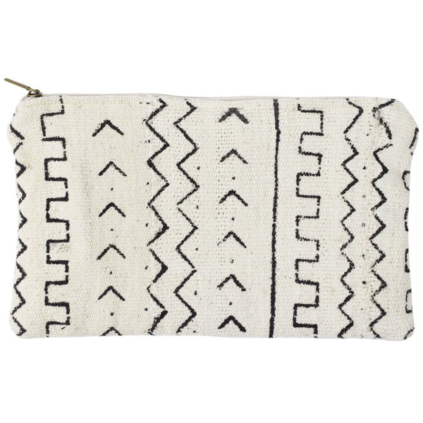 Tracks Mudcloth Pouch