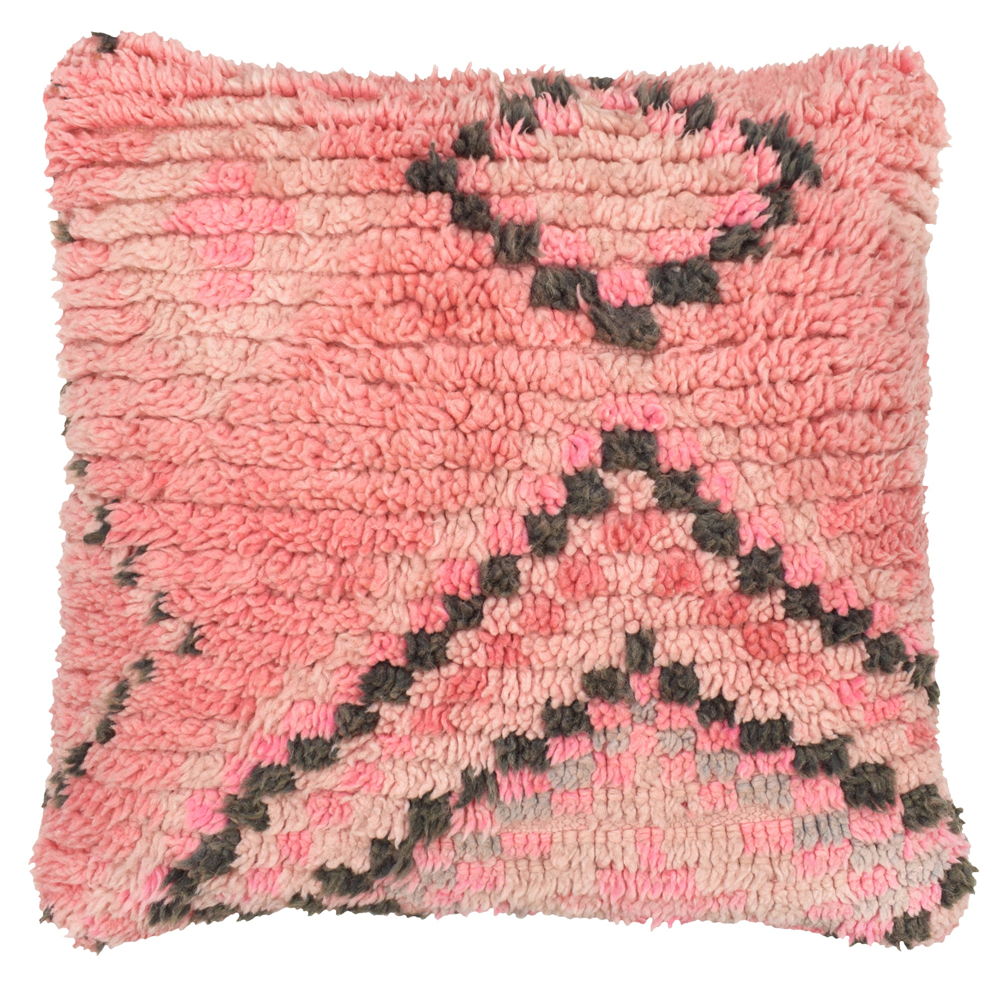 yonder living vintage Moroccan berber cushion blush pink diamonds