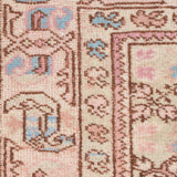 Yonder Vintage Runner Rug Cream Pink Blue Persian