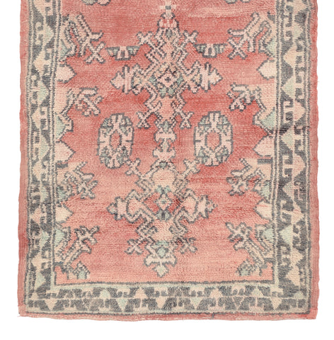 Yonder Living Vintage Moroccan Runner Rug Heritage Antique Red