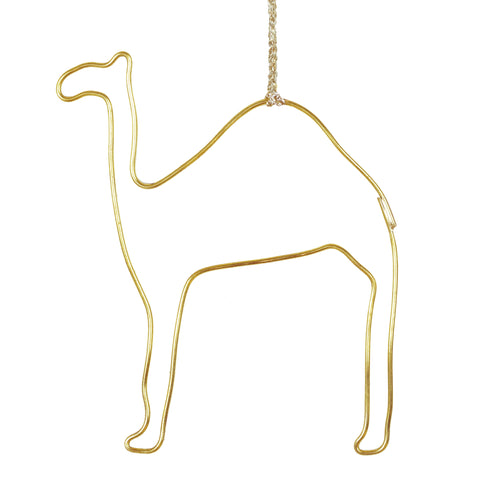 Moroccan Brass Camel