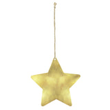 Yonder Moroccan Brass Star Christmas Decoration