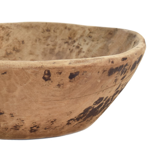 Handcarved Vintage Bowl