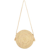 Raffia Cross-Body Bag