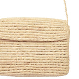 Raffia Box Bag