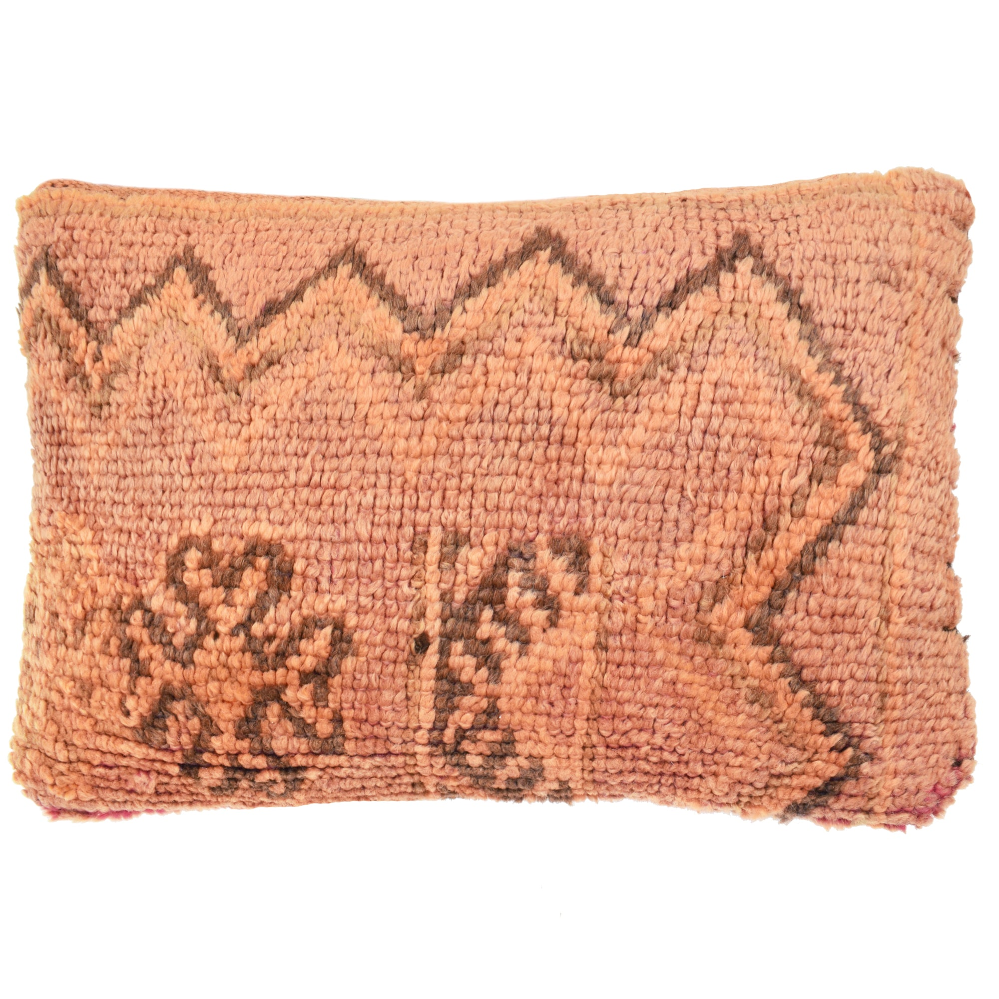 Vintage_Berber_Cushion_Ornage_Peach_Flower