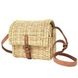 Rattan Satchel Bag