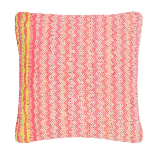 Yonder Living Kantha Cushion