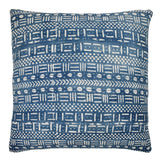 Indigo Mudcloth Cushion