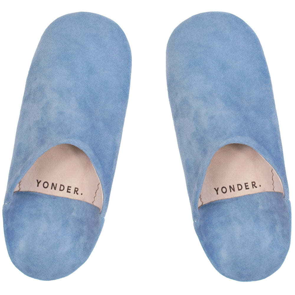 Suede Babouche Slippers