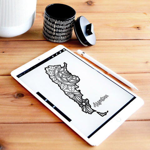 Argentina coloring page