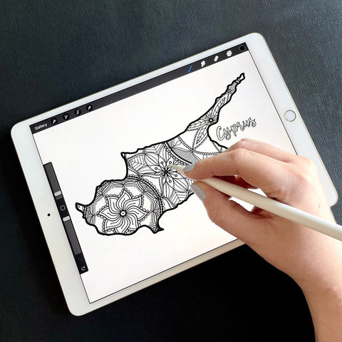 cyprus coloring page