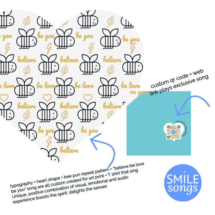Smile songs qr codes