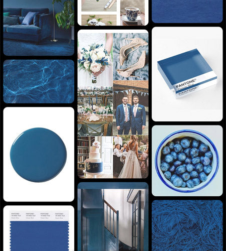 Ta muchly paper blooms pinterest classic blue
