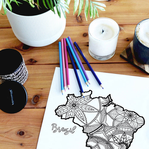 brazil coloring pages | Coloring pages for adults | Coloring pages for kids | brazil map coloring sheets | brazil map coloring page | brazil coloring page