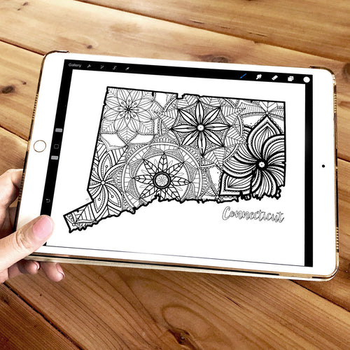 connecticut usa coloring pages | state map coloring pages for adults | Coloring pages for kids | connecticut usa map coloring sheets | state map coloring page | united states coloring page | united states of america | map of america