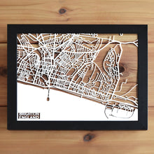 Load image into Gallery viewer, Map of Brighton England | Papercut Map Art | UK Travel Gift Ideas | Brighton City Map | Map Wall Art | Brighton Map | England Map | UK Papercut City Maps