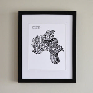 Map of London Borough of Tower Hamlets | Map of Tower Hamlets London | Map Art | Travel Gift Ideas | London Borough of Tower Hamlets City Map | Map Wall Art | London Borough of Tower Hamlets Map