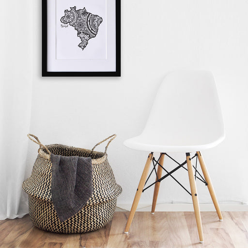 Map of Brazil | Map Art | Travel Gift Ideas | Brazil City Map | Map Wall Art | Brazil Map