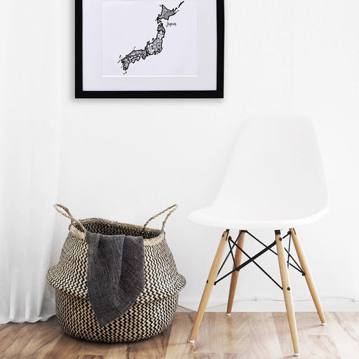 Map of Japan | Map Art | Travel Gift Ideas | Japan City Map | Map Wall Art | Japan Map